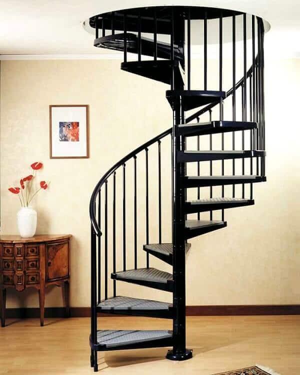 Công thức chia bậc cầu thang xoắn ốc