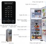 Kích thước tủ lạnh tất cả các loại mới nhất update 6/2019